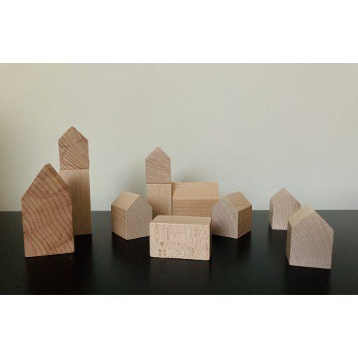 Fa város építőelemek